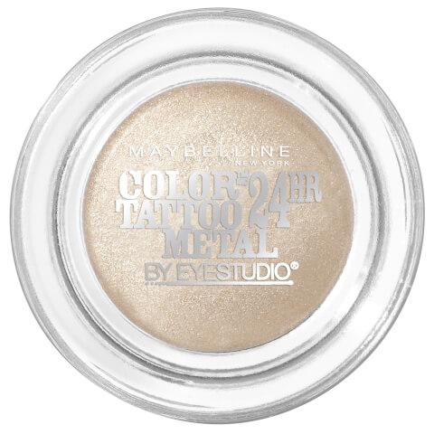 Maybelline Eye Studio Color Tattoo 24hr Cream Gel Eye Shadow #70 Barely Branded 4g