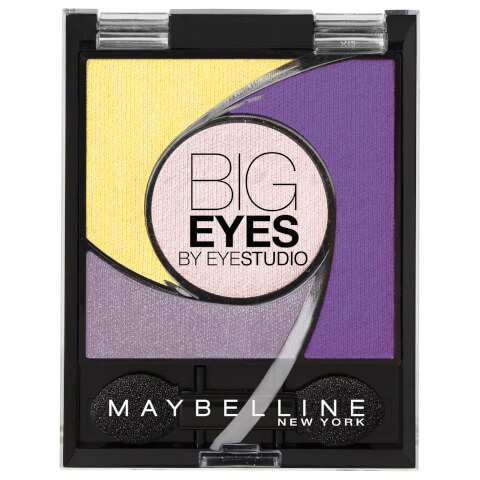 Maybelline Eyestudio Big Eyes Light Catching Eye Shadow Palette #05 Luminous Purple 5.37g