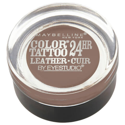 Maybelline Eyestudio Color Tattoo Leather 24hr #80 Creamy Beige 4g