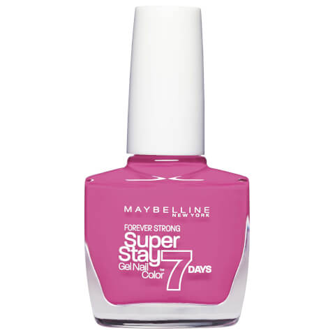Maybelline Superstay 7 Days Gel Nail Color #125 Enduring Pink 10ml