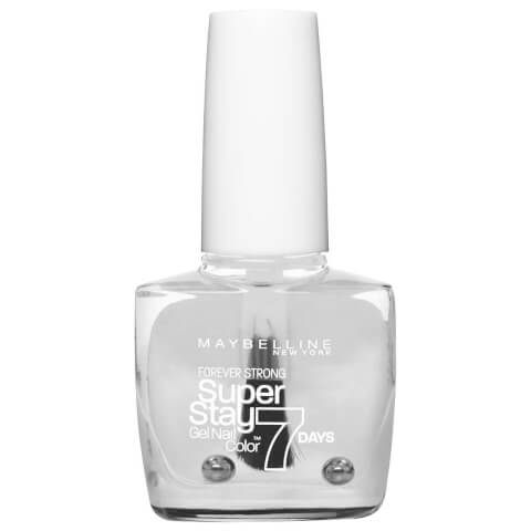 Maybelline Superstay 7 Days Gel Nail Color #25 Crystal Clear 10ml
