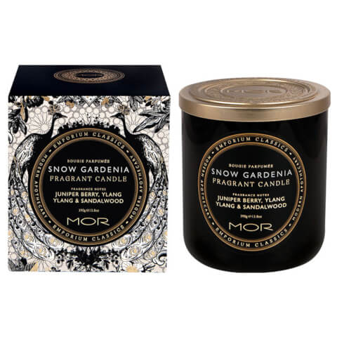 MOR Emporium Snow Gardenia Fragrant Soy Wax Candle