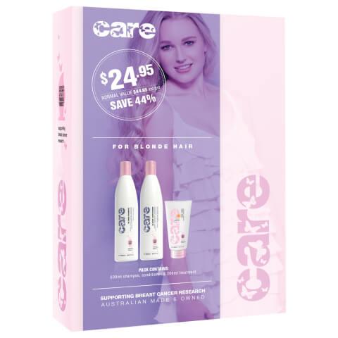 Nak Care Blonde Hair Trio Pack