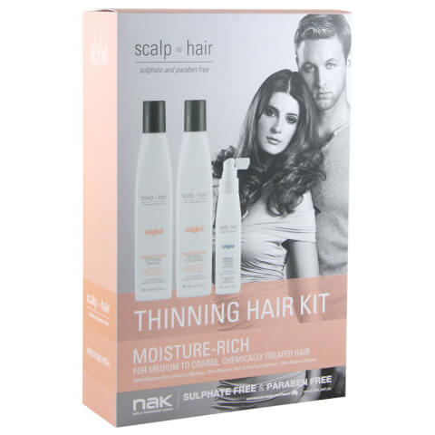 Nak Scalp To Hair Moisture-Rich Thinning Hair Kit