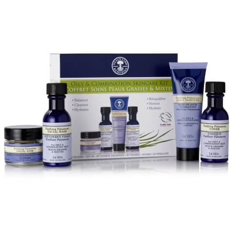 Neal's Yard Remedies Oily And Combination Skincare Kit