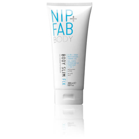 Nip + Fab Body Slim Fix 2-in-1 Body Moisturiser Toning Gel 200ml