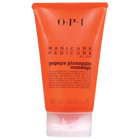 OPI Manicure Pedicure Papaya Pineapple Massage Lotion 125ml