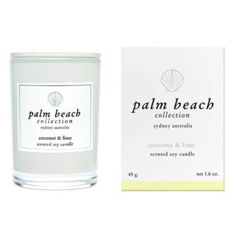 Palm Beach Collection Mini Candle Coconut And Lime 45g