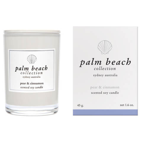 Palm Beach Collection Mini Candle Pear And Cinnamon 45g