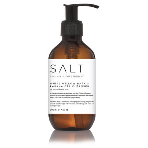 SALT White Willow Bark + Papaya Gel Cleanser 200ml