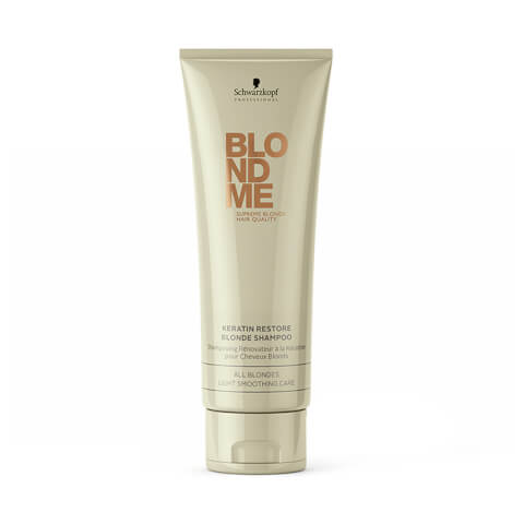 Schwarzkopf Blondme Keratin Restore Blonde Shampoo 250ml