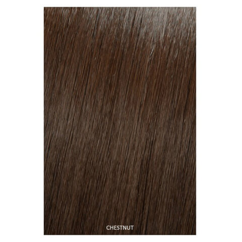 Showpony Professional Clip In Hair Extensions Heat Resistant Synthetic Style 406 - Chestnut 18 Inches