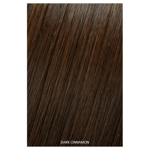 Showpony Professional Clip In Hair Extensions Heat Resistant Synthetic Style 406 - Dark Cinnamon 18 Inches