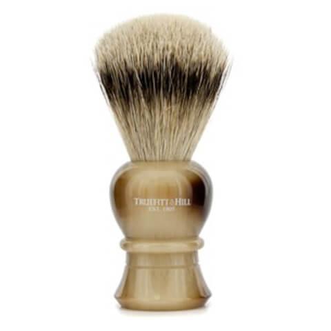 Truefitt & Hill Men's Regency Super Badger Shave Brush Faux Horn