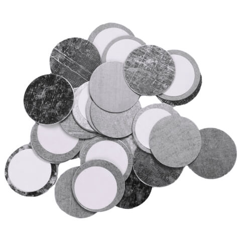 Z palette Round Metal Stickers - 30 Pack