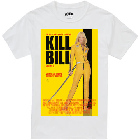 T-Shirt Homme Kill Bill Affiche du Film - Blanc