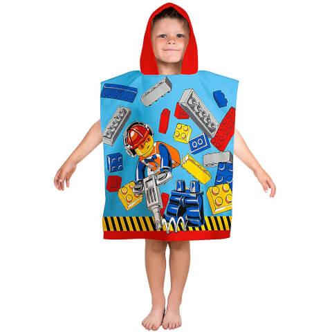 LEGO City: Construction Poncho Towel