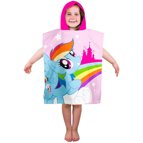 My Little Pony : Les amies, c'est magique : Serviette Poncho Equestria