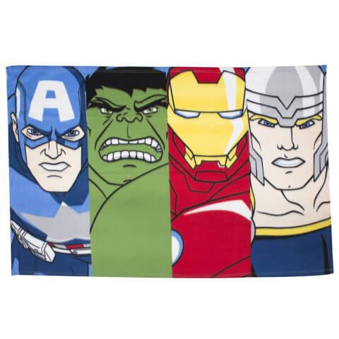 Plaid en Polaire Disney Marvel Avengers Lineup