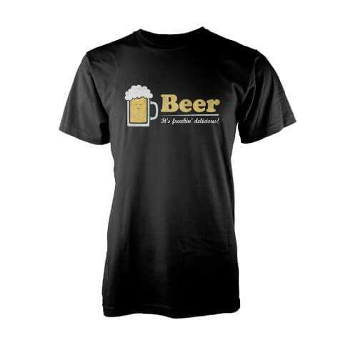 Teo It's Freaking Delicious Men's Black T-Shirt