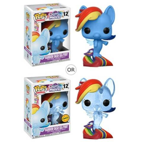 My Little Pony Movie Rainbow Dash Sea Pony Pop! Vinyl Figure