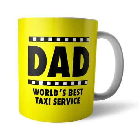 Dad World's Best Taxi Service Mug
