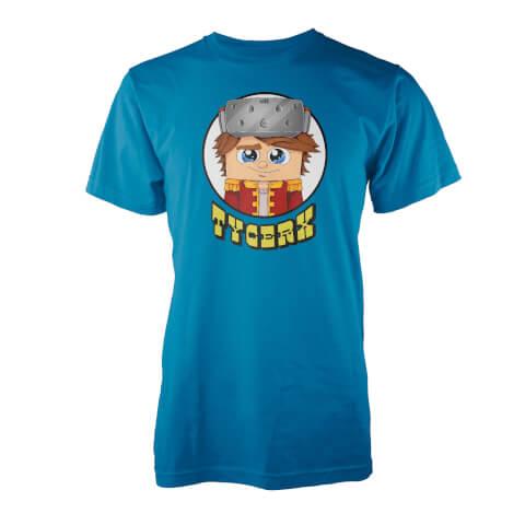 T-Shirt Tycerx Insignia -Bleu