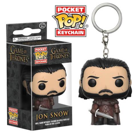 Game of Thrones Jon Snow Pocket Pop! Keychain
