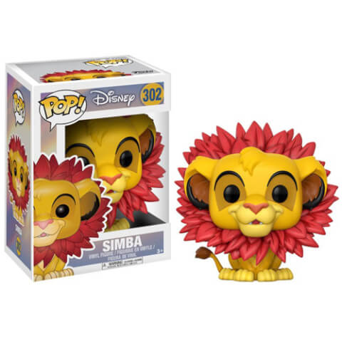 Lion King Simba (Leaf Mane) Pop! Vinyl Figure
