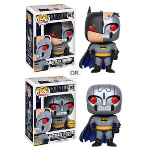 Animated Batman Robot Batman Pop! Vinyl Figure