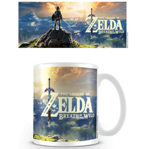 The Legend of Zelda: Breath of the Wild Coffee Mug (Sunset)