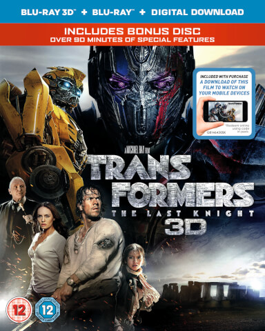 Transformers: The Last Knight 3D (Includes 2D Version) (Digital Download)