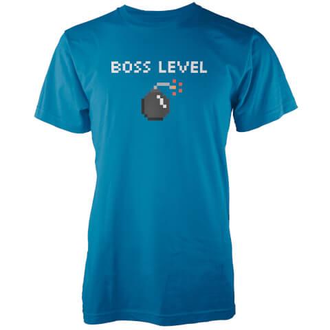 T-Shirt Homme Boss Level - Bleu