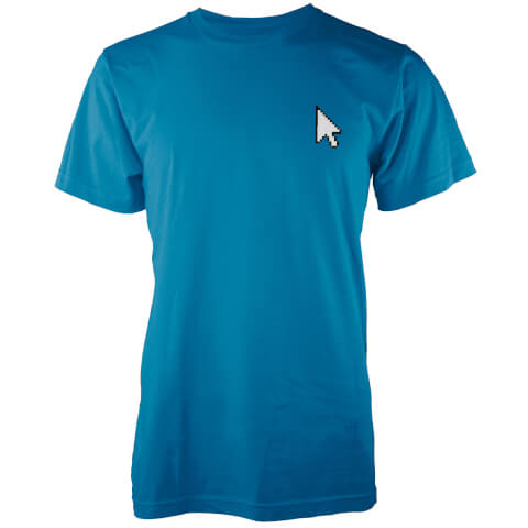Pocket Pointer Men's Blue T-Shirt