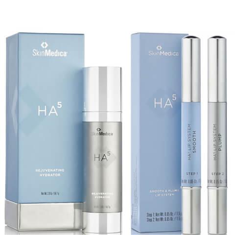 SkinMedica HA5 Rejuvenating Hydrator and HA5 Smooth and Plump Lip System (Worth $246)