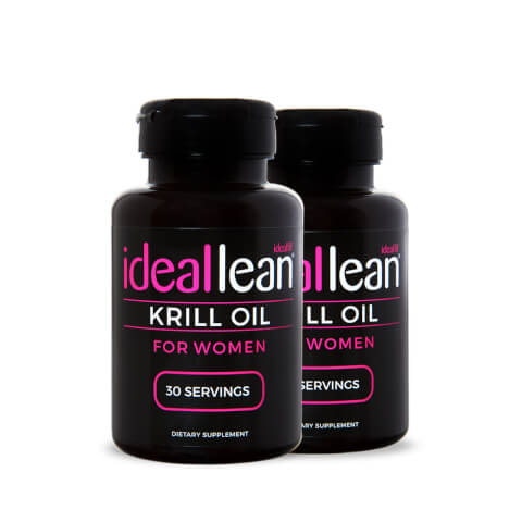 IdealLean Krill Oil - 60 Servings