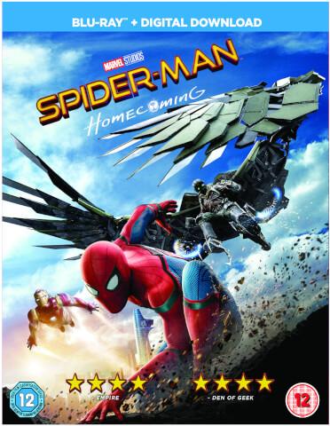 Spider-Man Homecoming Blu-ray + Comic Book