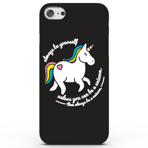 Coque iPhone & Android Always Be a Unicorn - 4 Couleurs