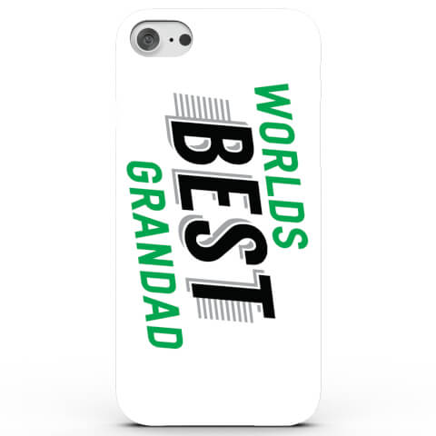 Worlds Best Grandad Phone Case for iPhone & Android - 4 Colours