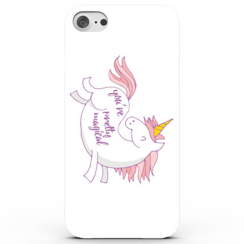 Coque iPhone & Android You're Pretty Magical Unicorn - 4 Couleurs