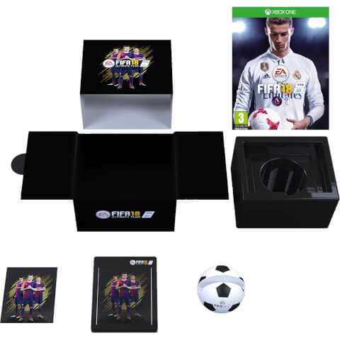 FIFA 18 Édition Collector Exclusive pour Zavvi