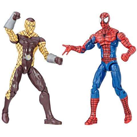 Hasbro Marvel Legends Series Spider-Man and Shocker 2 Pack Action Figures