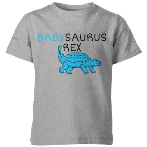 Babysaurus Rex Kids Grey T-Shirt