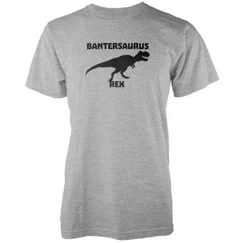 T-Shirt Homme Bantersaurus Rex - Gris