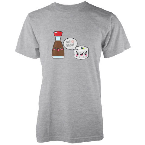 Kawaii Soy Awesome Grey T-Shirt