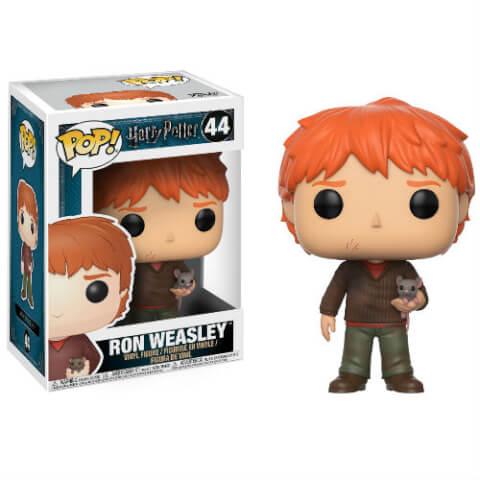 Figurine Pop! Ron Weasley avec Croûtard Harry Potter