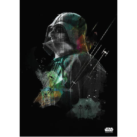 Star Wars Metal Poster - Jammed Transmission Darth Vader (68 x 48cm)