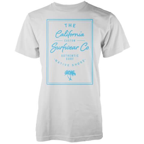 Native Shore Men's California Surfwear Co. T-Shirt - White