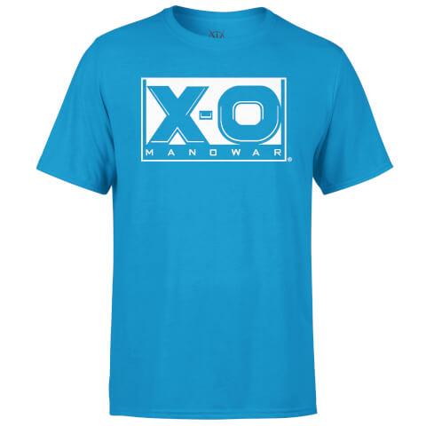 Valiant Comics Classic XO Logo T-Shirt - Blue