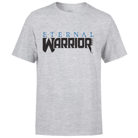 T-Shirt Homme Logo Valiant Comics Classic Eternal Warrior - Gris